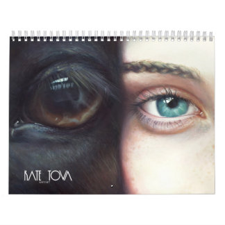 Calendar with painting collection by KATE TOVA