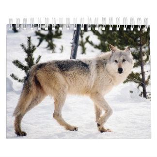 Calendar - Wolves - 2016