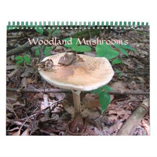 Calendar - Woodland Mushrooms