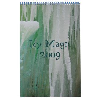 calendarcover, magia helada 2009 calendario