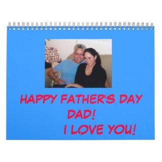 Calendario '07 del día de los padres del papá