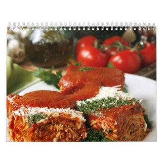 Calendario 11 de la fruta y de la comida