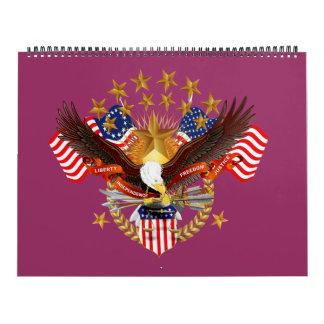 Calendario 13 placa 40 del personalizar del mes