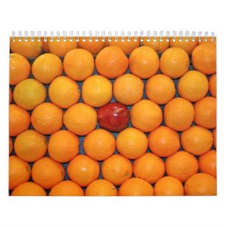Calendario 14 de la fruta y de la comida