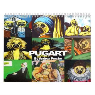 Calendario $19,95 de PugArt