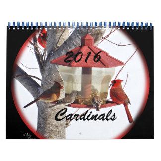 Calendario #1 2016 de los cardenales