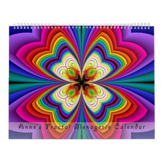 Calendario #1 de la casa de fieras del fractal de