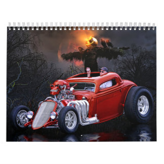 Calendario 1 del coche de carreras