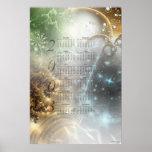 Calendario 2003 del fractal posters