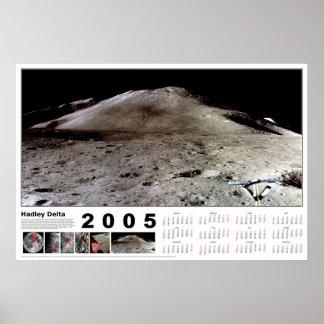 Calendario 2005: Delta de Hadley Poster