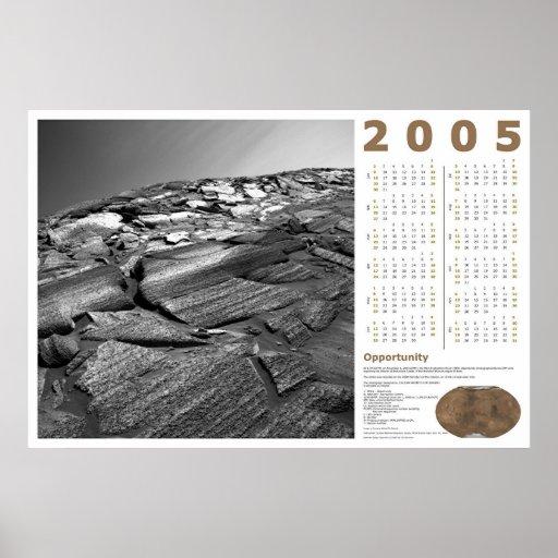 Calendario 2005: Oportunidad Póster