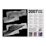 Calendario 2007 de Cabo Verde (Marte) Posters