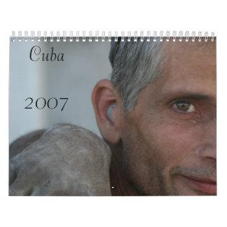 Calendario 2007 de la foto de Cuba