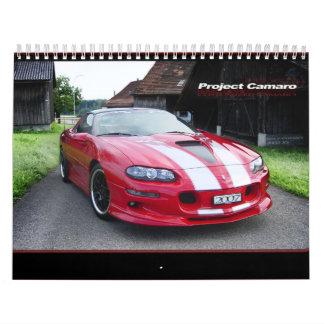 calendario 2007 de ProjectCamaro.com