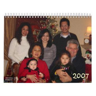 Calendario 2007 de Yoya Papou