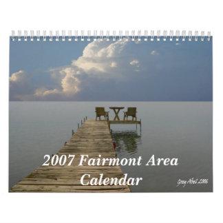 Calendario 2007 del área de Fairmont
