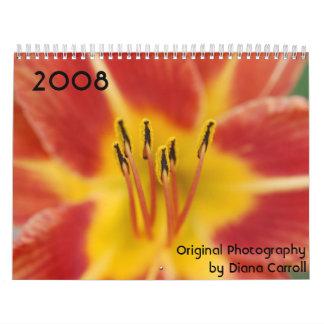 Calendario 2008 de Diana Carroll