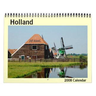 Calendario 2008 de la foto de Holanda