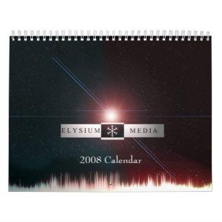 Calendario 2008 de los medios del Elysium