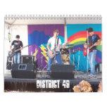 Calendario 2008 del distrito 49