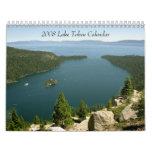 Calendario 2008 del lago Tahoe