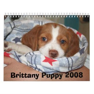 Calendario 2008 del perrito de Bretaña (TODO OXIDA