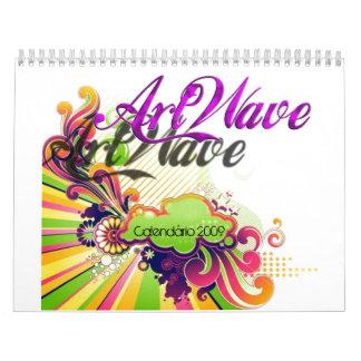 Calendário 2009 calendario de pared