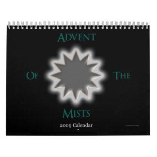 Calendario 2009 de AdventMud