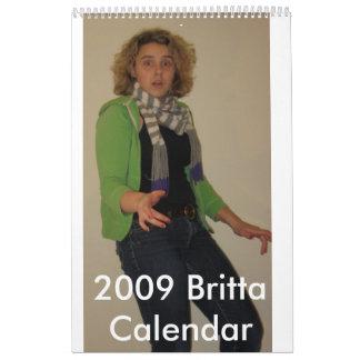 Calendario 2009 de Britta