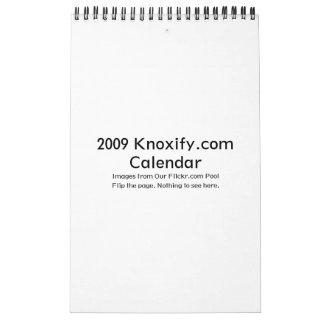 calendario 2009 de Knoxify com