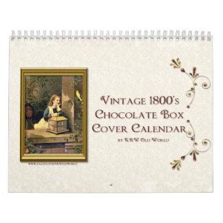 Calendario 2009 de la cubierta de caja del