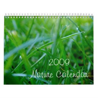 Calendario 2009 de la naturaleza
