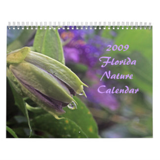 Calendario 2009 de la naturaleza de la Florida