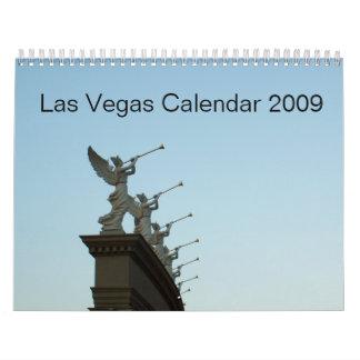Calendario 2009 de Las Vegas