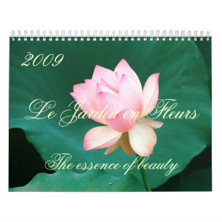 Calendario 2009 de Le Jardin en Fleurs
