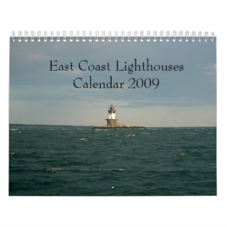 Calendario 2009 de los faros de la costa este