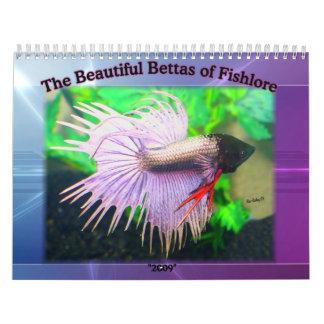 Calendario 2009 de los pescados de Betta