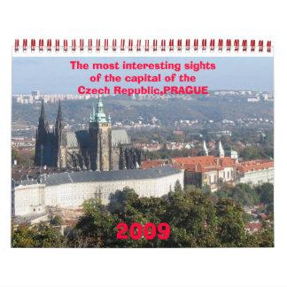 Calendario 2009 de PRAGA - modificado para requisi