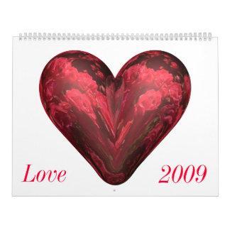 Calendario 2009 del amor
