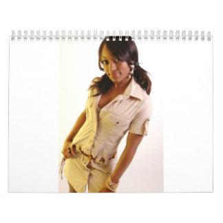 Calendario 2009 del chica de Silvertown