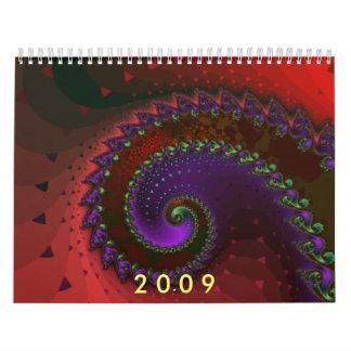 Calendario 2009 del fractal
