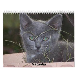 Calendario 2009 del gato