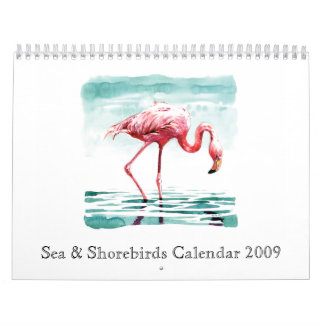 Calendario 2009 del mar y de las aves costeras