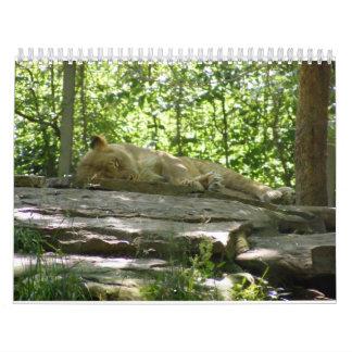 Calendario 2009 del parque zoológico
