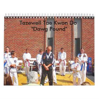 Calendario 2009 del Taekwondo