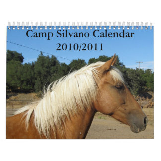 Calendario 2010/2011 de Silvano del campo