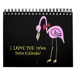 Calendario 2010: AMO Los años 50