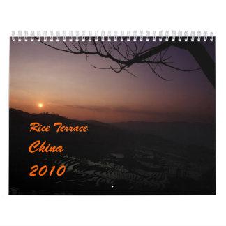 calendario 2010 con las fotos de la terraza del ar
