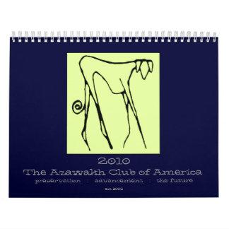 Calendario 2010 de Azawakh