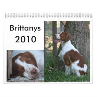 Calendario 2010 de Bretaña